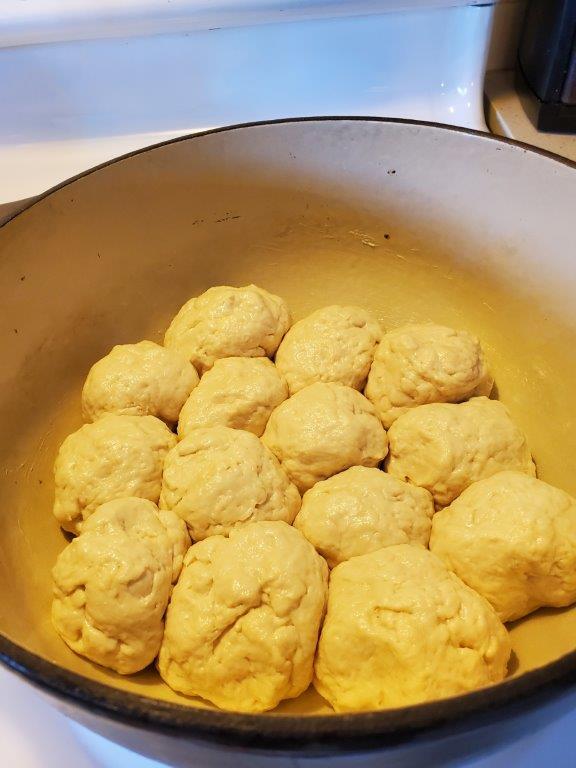 Uncooked Lola buns