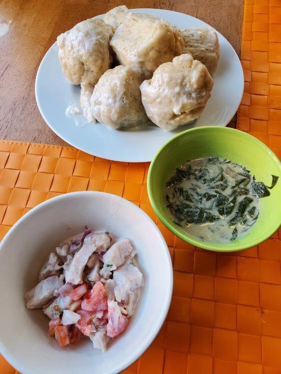 Fijian meal