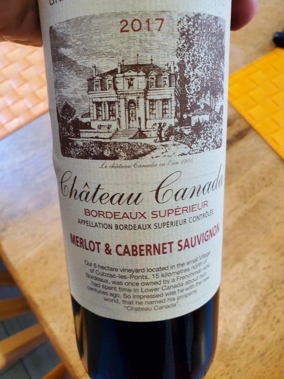 Chateau Canada Wine