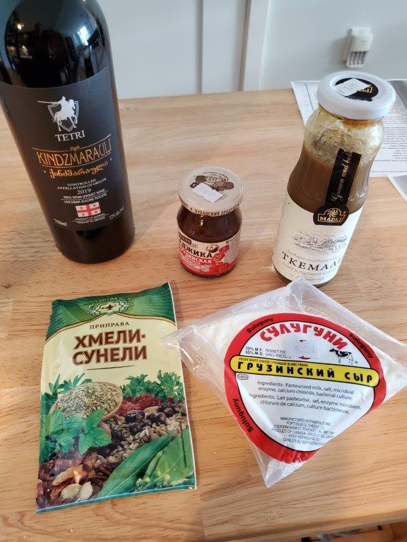 Georgian foodstuffs
