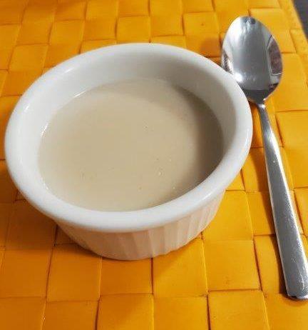Tiger nut pudding